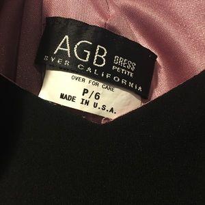 Black AGB formal dress
